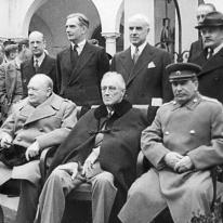 ТРИО-Сталин, Рузвельт, Черчилль