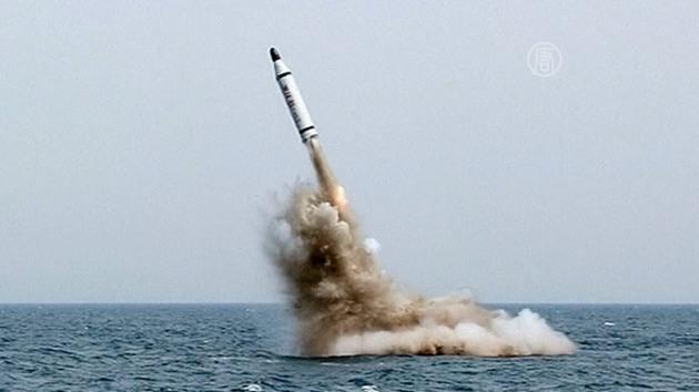 Корея ракеты подлодка 1