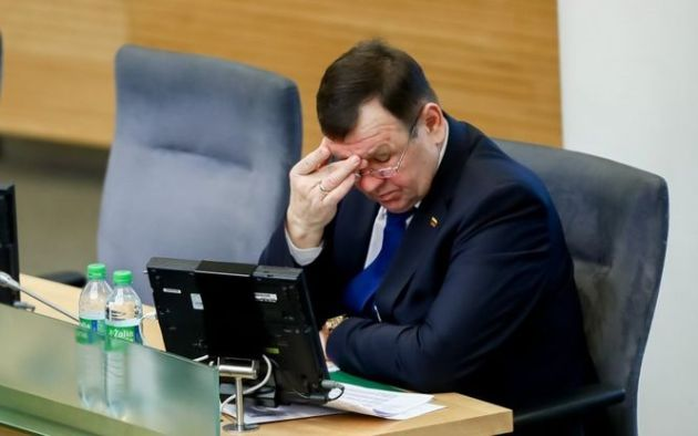 Литва депутат Сейма Кястутис Пукас