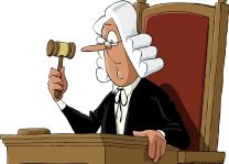 судья в парике