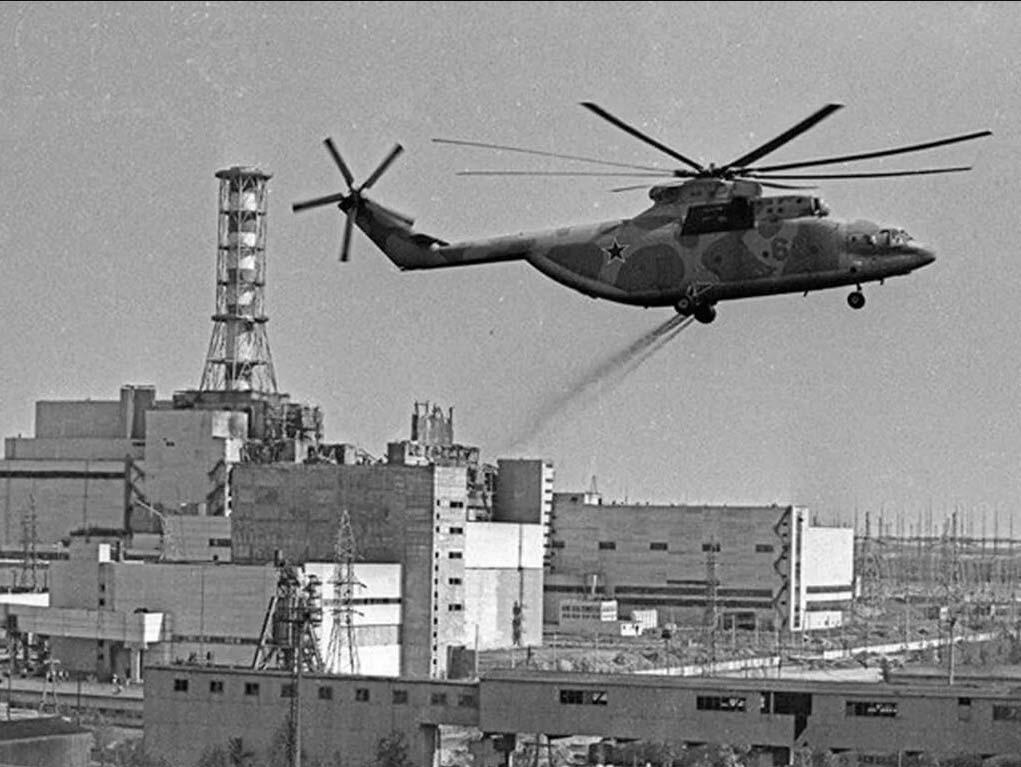 вертолет свинец